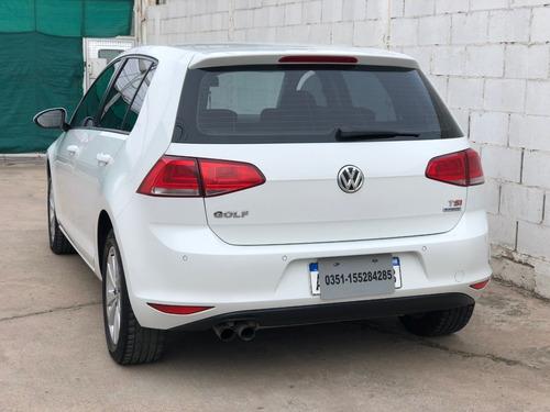 volkswagen golf 1.4 tsi 2016 * financio * recibo menor *