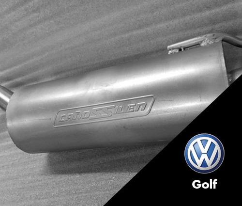 volkswagen golf 1.6 cañossilen -  equipo completo
