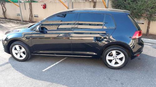 volkswagen golf 1.6 l  confortline negro 2016