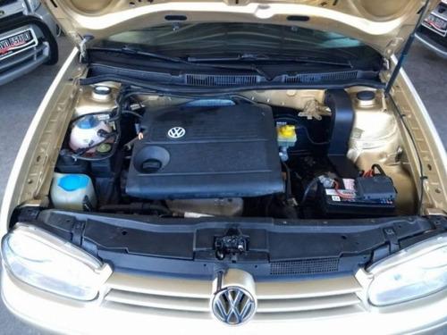volkswagen golf 1.6 mi 8v gasolina 4p manual 2001 dourado
