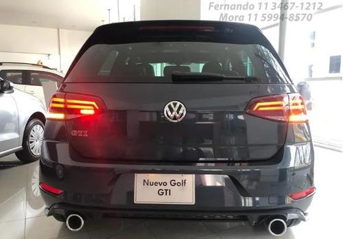 volkswagen golf 2.0 gti tsi app connect + cuero 2020 0km