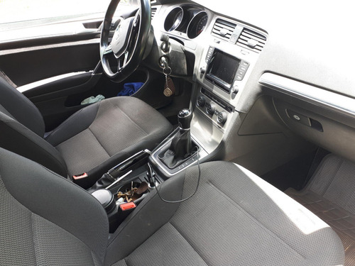 volkswagen golf 2015, 1.4 turbo, manual caja 6 impecable