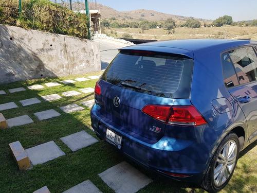 volkswagen golf, 2017 , style, dsg, cinco puertas color azul