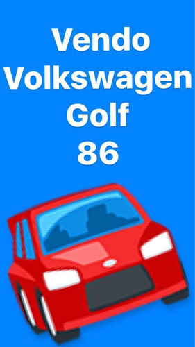 volkswagen golf automatico 1986