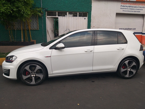 volkswagen golf gti 2.0 t piel at 2015