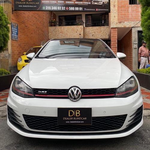 volkswagen golf gti turbó 2015 blindado.
