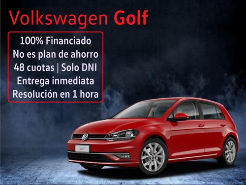 volkswagen golf highline 0km línea 2020 financio tasa 0% c0