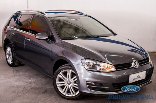 volkswagen golf variant highline 2016 cinza flex