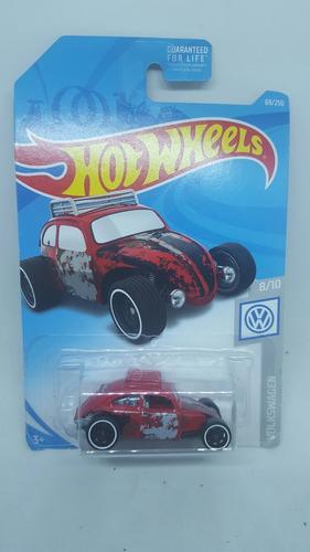 volkswagen hot wheels beetle carrito escala nuevo mattel