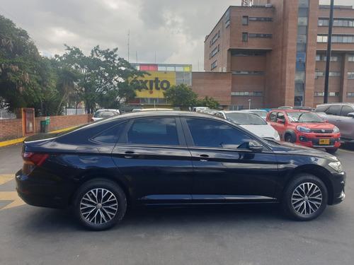 volkswagen, jetta, confortline 1.4  tsi 2019 negro 4 puertas