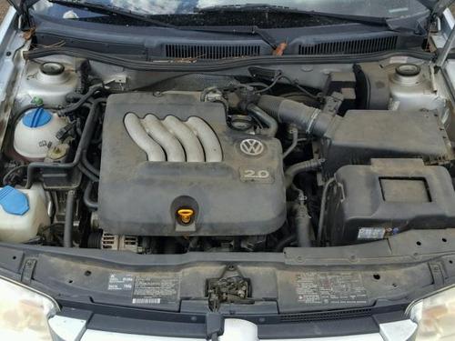 volkswagen jetta gl motor 2.0 01-06 yonkeado para partes