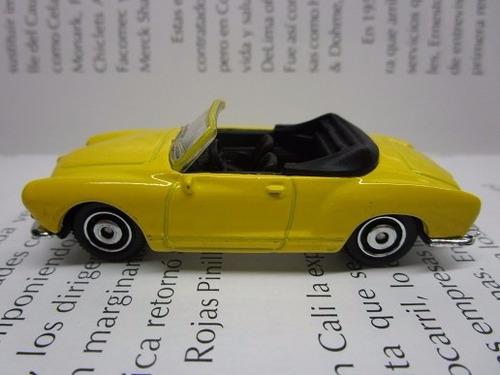volkswagen karman escala miniatura coleccion matchbox