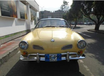 volkswagen karmann ghia 1965 clasico antiguo