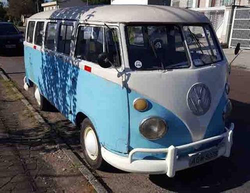 volkswagen kombi  1500cc 1968 para restauro     **r$ 22500**