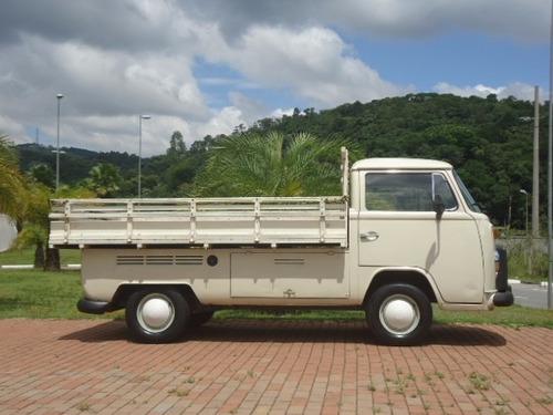 volkswagen kombi 1.6 diesel pick up 1982 raríssima