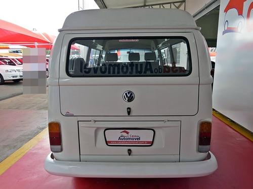 volkswagen kombi 1.6 mi std lotação 8v gasolina 3p manual