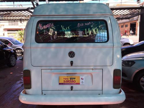 volkswagen kombi 1.6 std 3p gasolina/gás - passageiro