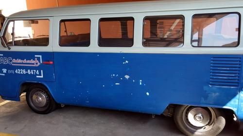 volkswagen kombi 88 / 89 - álcool - original
