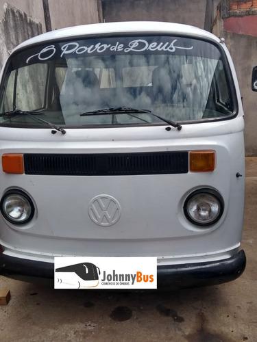 volkswagen kombi - ano 1995 -dupla carburação - johnnybus