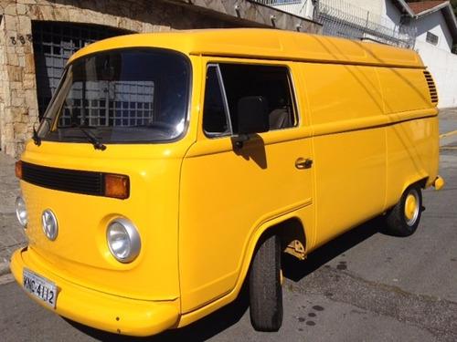 volkswagen kombi furgão 1998 amarela