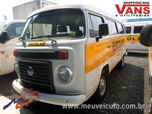 volkswagen kombi lotação 1.4 mi 2012/2013 branco