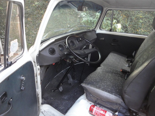 volkswagen kombi pick-up 1995 carroceria de madeira kit gas