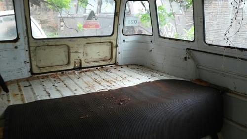 volkswagen kombi van kombi 1600 sucata  cliper motor home