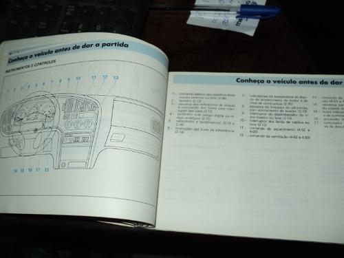volkswagen logus 1994  manual do proprietario