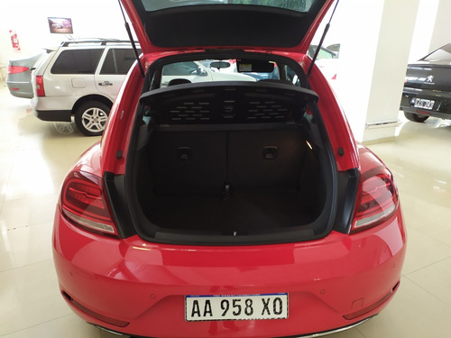 volkswagen new beetle 1.4 tsi aut año 2017 color rojo