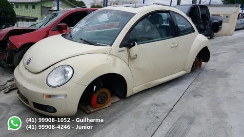 volkswagen new beetle 2.0 2009 sucata para peças