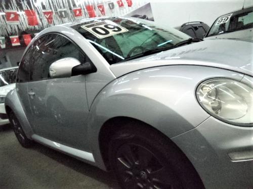 volkswagen new beetle 2.0 mi aut. 2009 completo 78mkm novo!