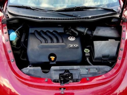 volkswagen new beetle - 2.0 -  mod. 2.007 - color rojo salsa