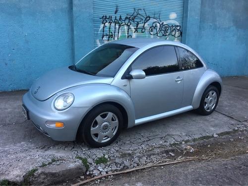 volkswagen new beetle 2002 gris 2.0 advance