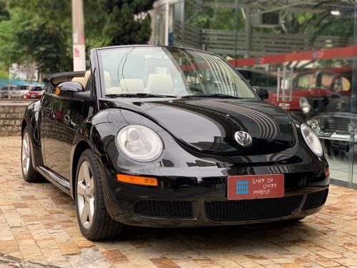 volkswagen new beetle conversível automático - 2010