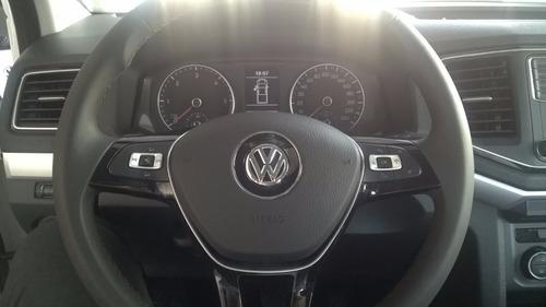 volkswagen nueva amarok 2.0 , anticipo y ctas, tasa 0% (mr)