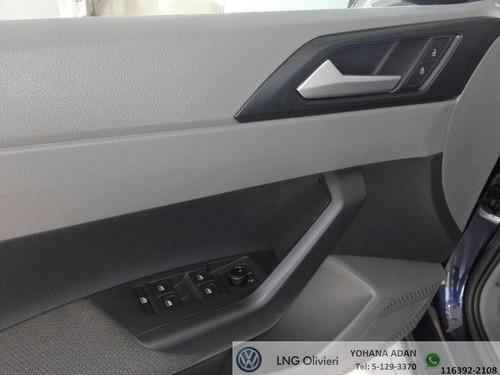 volkswagen  nuevo polo 1.6 msi comfort plus at 0km 2018 azul