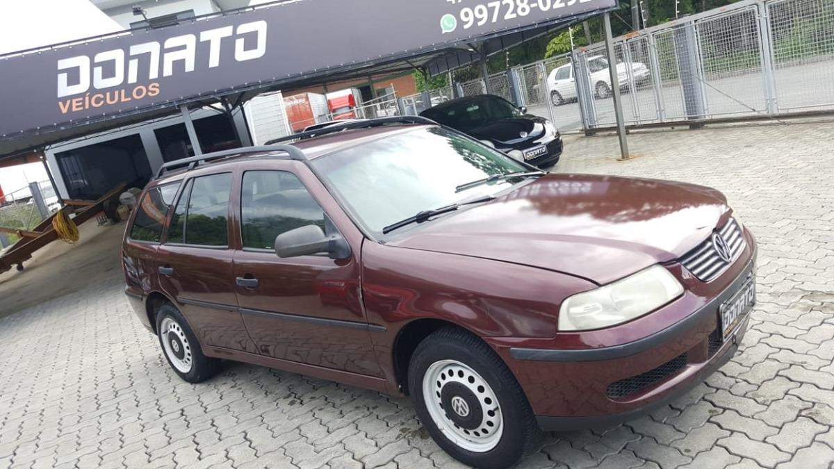 7020ef2f38 Volkswagen Parati 1.0 Mi 16v Gasolina 4p Manual G.iii - R  6.500 em ...