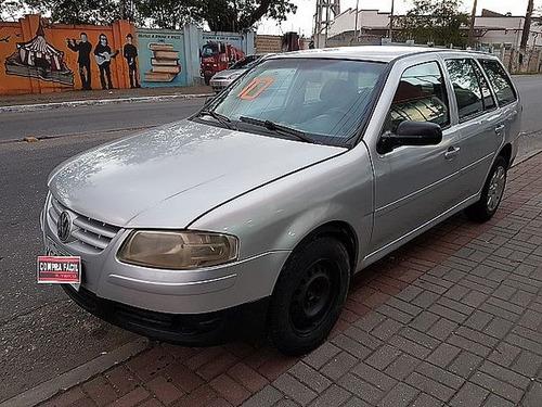 volkswagen parati 1.6 mi 8v g.iv - aceito troca 2010