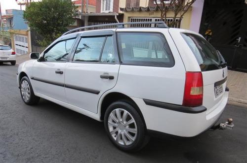 volkswagen parati 1.6 mi city 8v flex 4p manual g.iii 2005/2