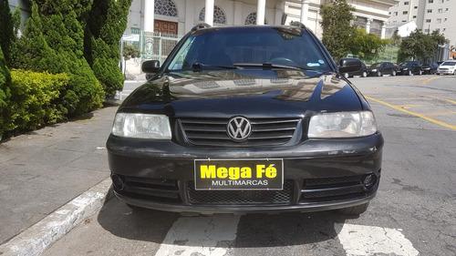 volkswagen parati 1.8 city total flex 5p 2005 preto completo