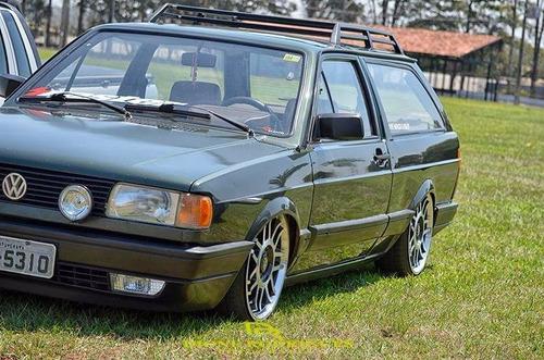 volkswagen parati 1.8gl legalizada suspensão roda e pneu