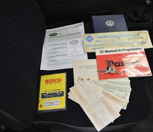 volkswagen passat 1.6 ls 8v gasolina 2p manual