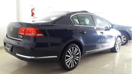 volkswagen passat 2.0 luxury tsi 211cv  2012 impecable azul!