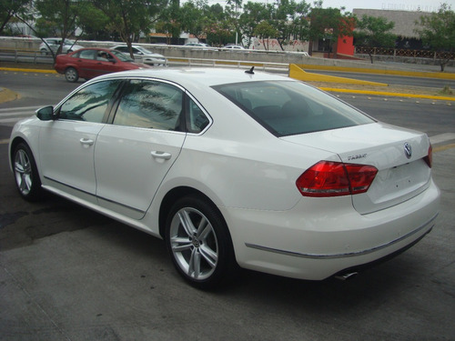 volkswagen passat 3.6 v6 at 2012 blanco