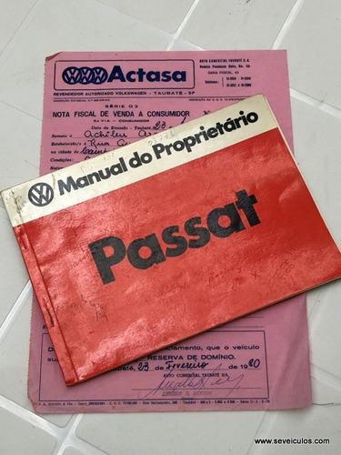 volkswagen passat ls - 1980 ( oportunidade!)