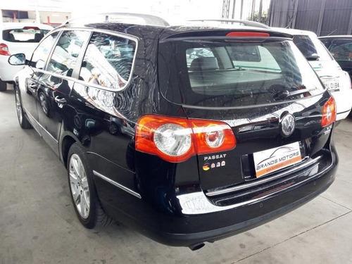 volkswagen passat variant 3.2 v6 fsi gasolina 4p automático