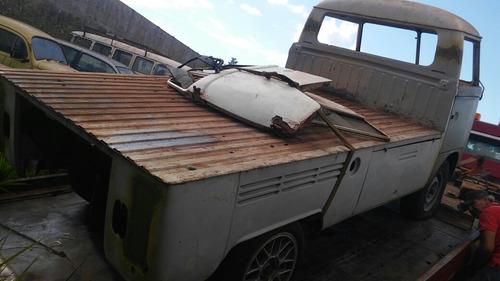 volkswagen pick-up kombi 1973 carcaça sem motor muito boa