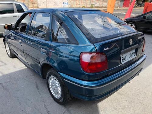 volkswagen pointer 1.8 1995 azul gasolina