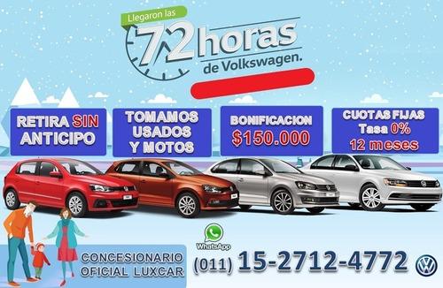 volkswagen polo 0km anticipo $315.000 cuota fija $14.300 x-