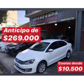 Volkswagen Polo 1.6 Comfortline 2017, $269.000 Y Cuotas